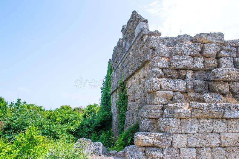 walled stad kalkon Sidostad arkivbild