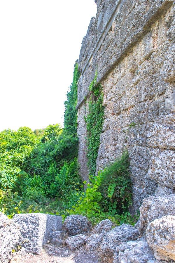 walled stad kalkon Sidostad royaltyfri bild
