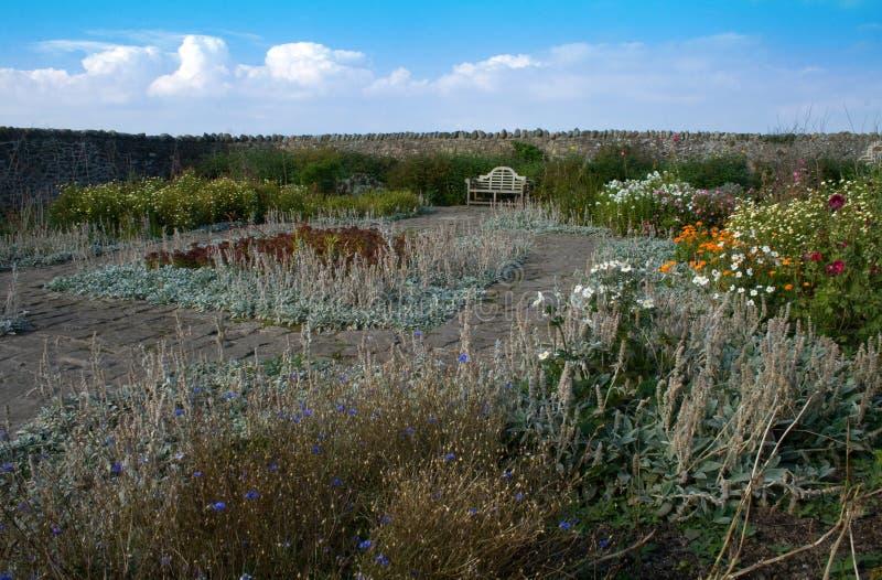 walled trädgård fotografering för bildbyråer