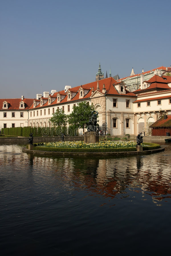 Wallenstein Garden, Prague stock photography