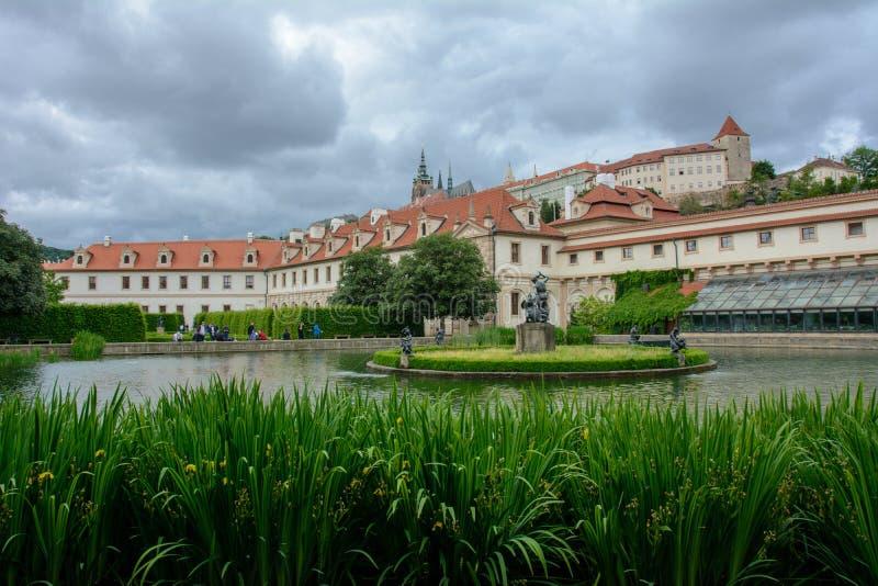 Wallenstein Palace in Prague, Czech Republic royalty free stock image