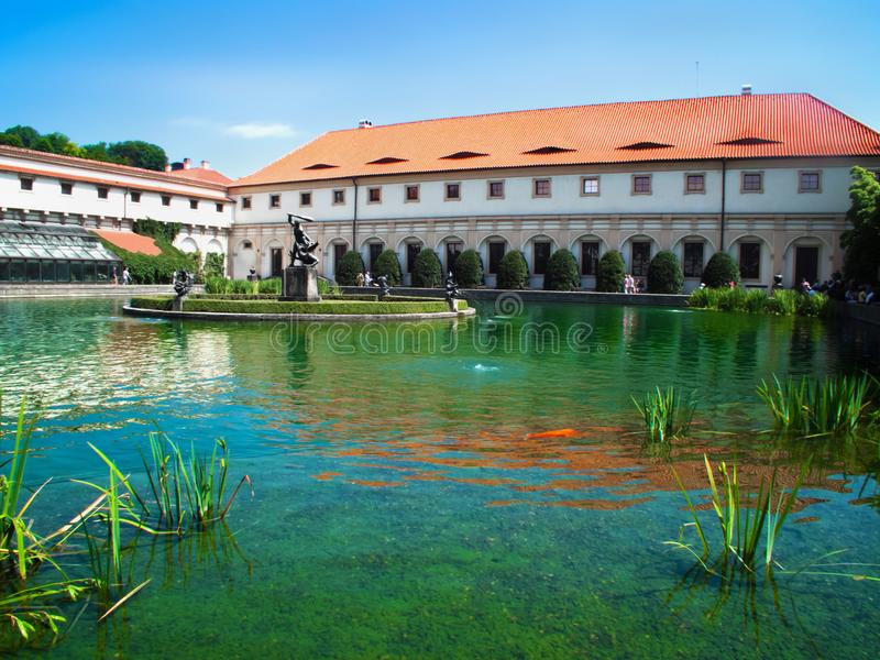 The Wallenstein Palace of Prague royalty free stock photos