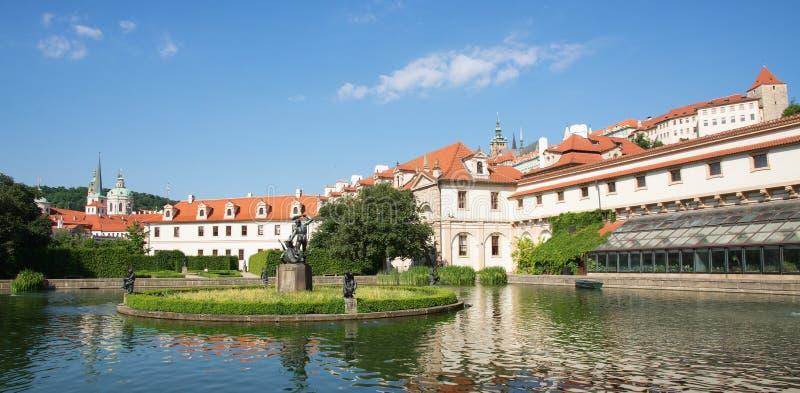 wallenstein prague сада стоковые изображения