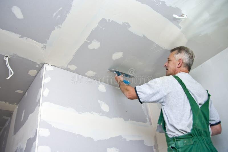 waller потолка сухое стоковое изображение rf