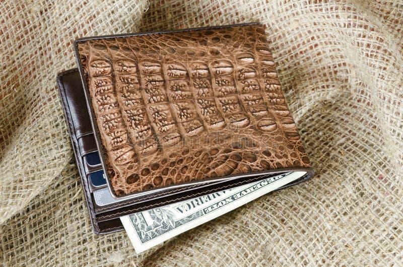 Download Wallet stock image. Image of dollar, bank, crocodile - 24853359