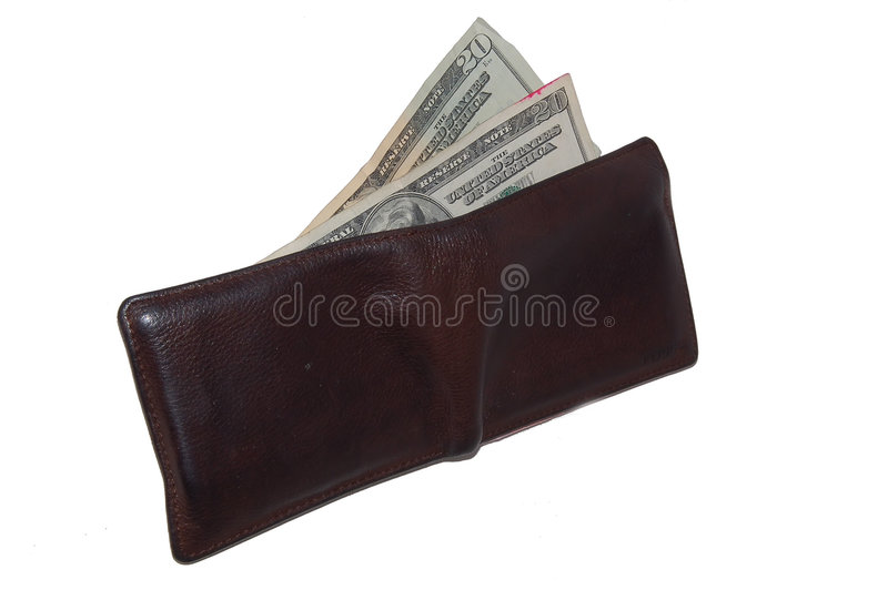 Download Wallet stock image. Image of rich, green, clip, expensive - 468887