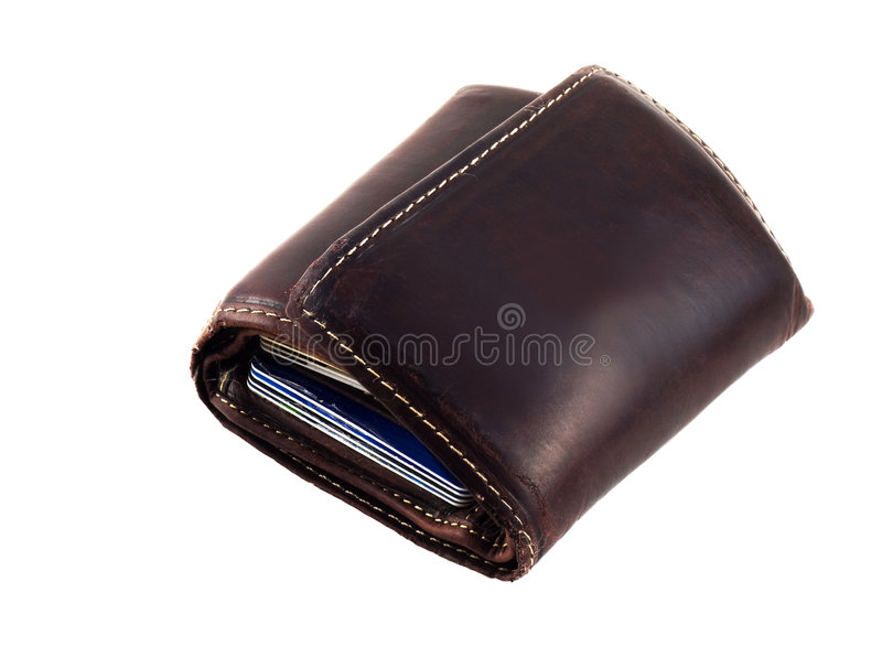 Download Wallet with Credit Cards stock image. Image of economy - 5991195