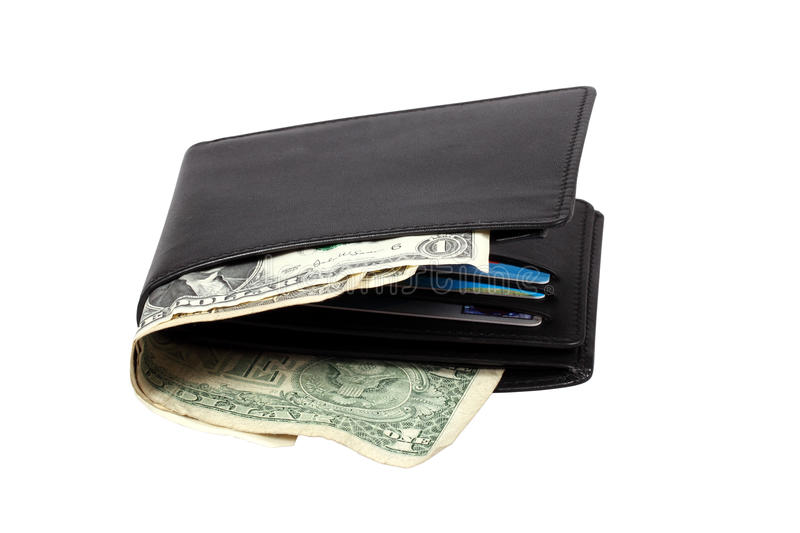 Download Wallet With Dollar Banknotes Stock Image - Image: 24331663