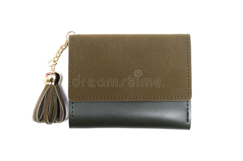 Wallet. stock photography