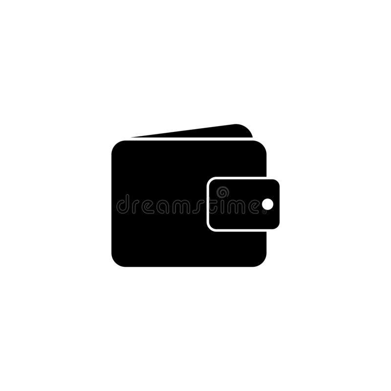 Wallet Icon in trendy flat style isolated on white background. icon vector for your web site design, logo, app, UI. Vector stock illustration