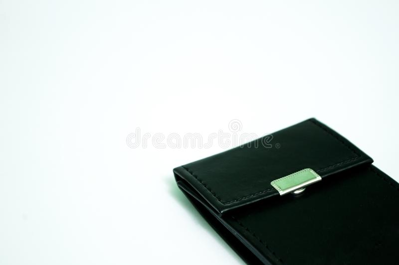 Wallet isolated. On a white background royalty free stock images