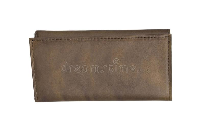 Wallet isolated. On white background stock photography