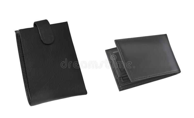 Wallet isolated. On white background stock image