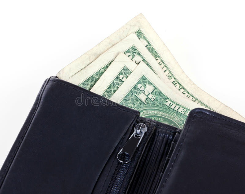 Download Wallet with money stock image. Image of payment, black - 19631205