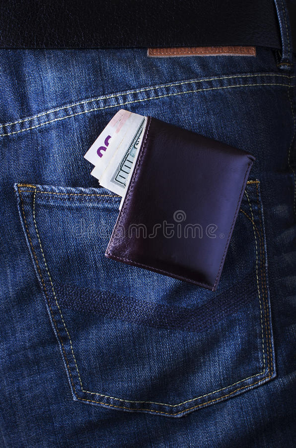 Download Wallet with money stock image. Image of business, keep - 25793245