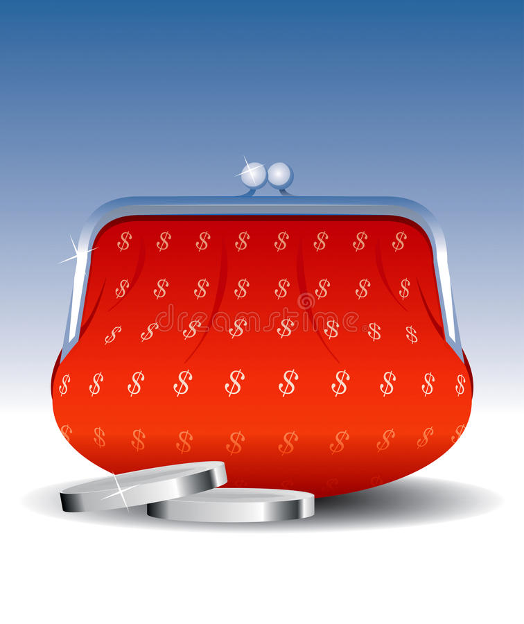 Download Wallet Set 1 stock vector. Image of illustration, finance - 11486762