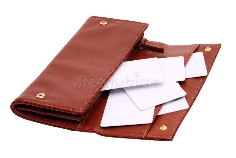 wallet2 royaltyfri fotografi