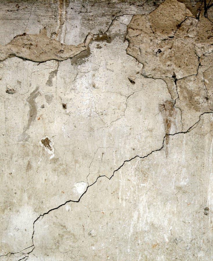Walll del calcestruzzo di Brocken fotografia stock libera da diritti