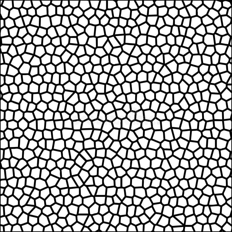 Wallpap för bakgrund för vektor för mosaik för kontur för stenkiselstentextur royaltyfri illustrationer