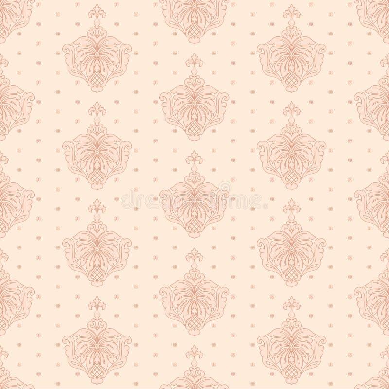 Wallpape clásico stock de ilustración