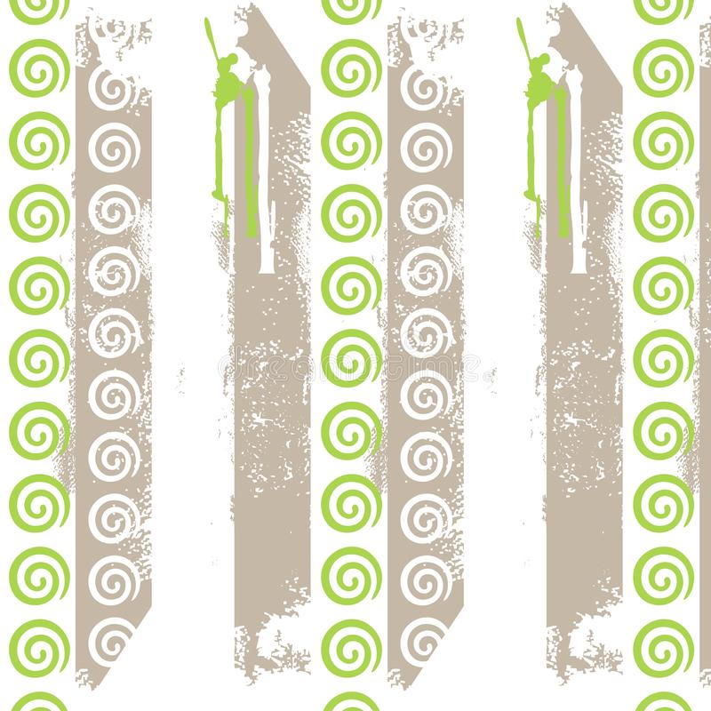 Wallpape dell'annata in a strisce fotografie stock