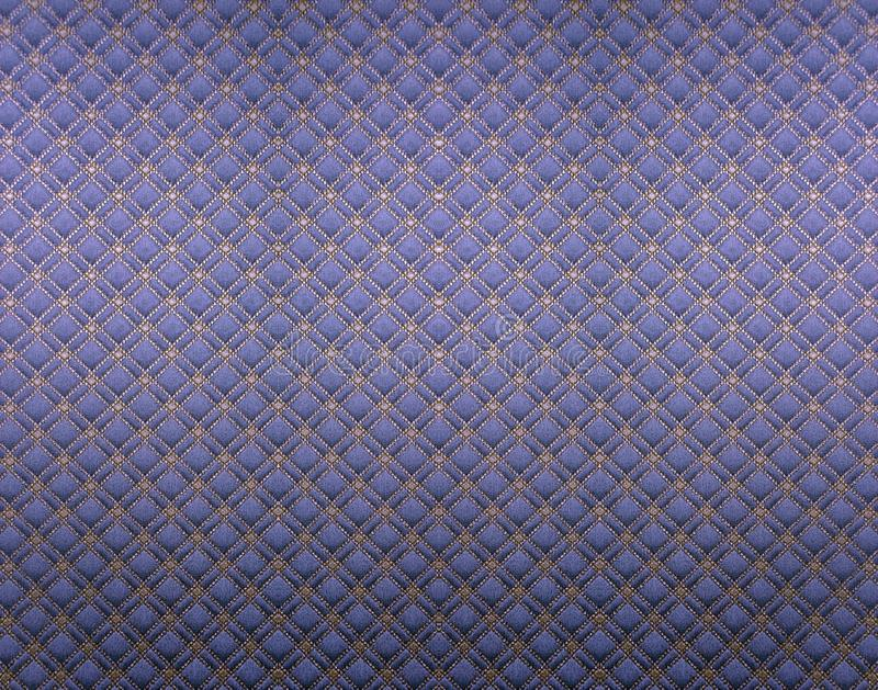 Wallpaper. Blue square of vintage wallpaper stock photo