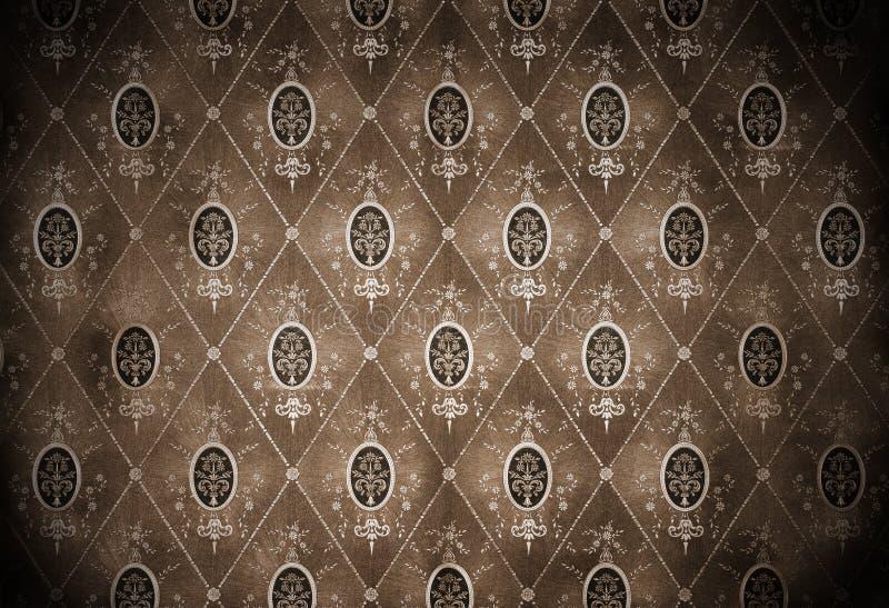 Wallpaper. Retro vintage wallpaper, old background royalty free stock image