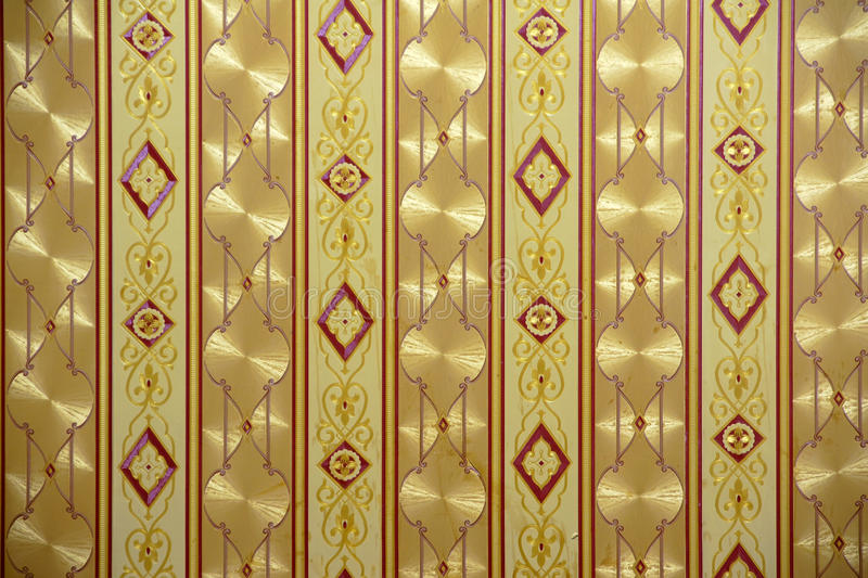 Wallpaper. The background of golden wallpaper stock photography
