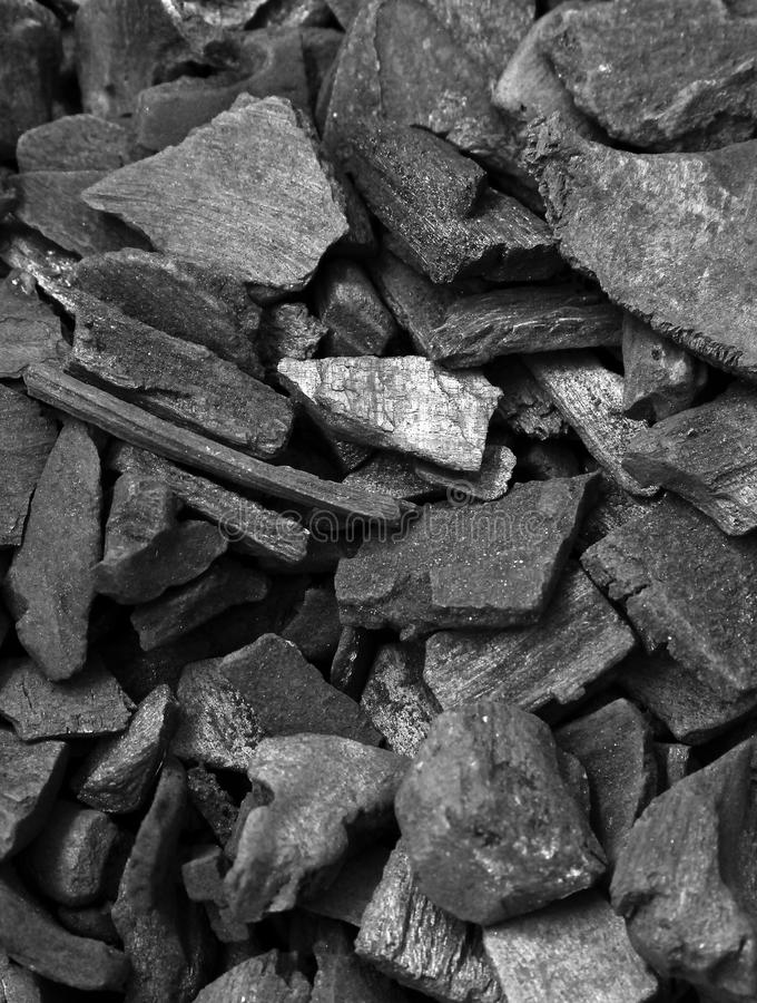Coal wallpaper. Wallpaper of black and shiny small pile coal