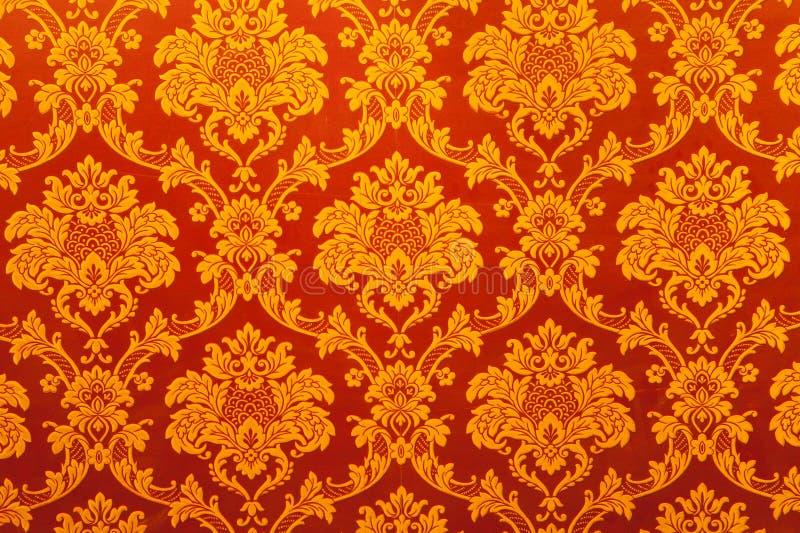 Download Vintage Indian Golden Wallpaper Stock Photo