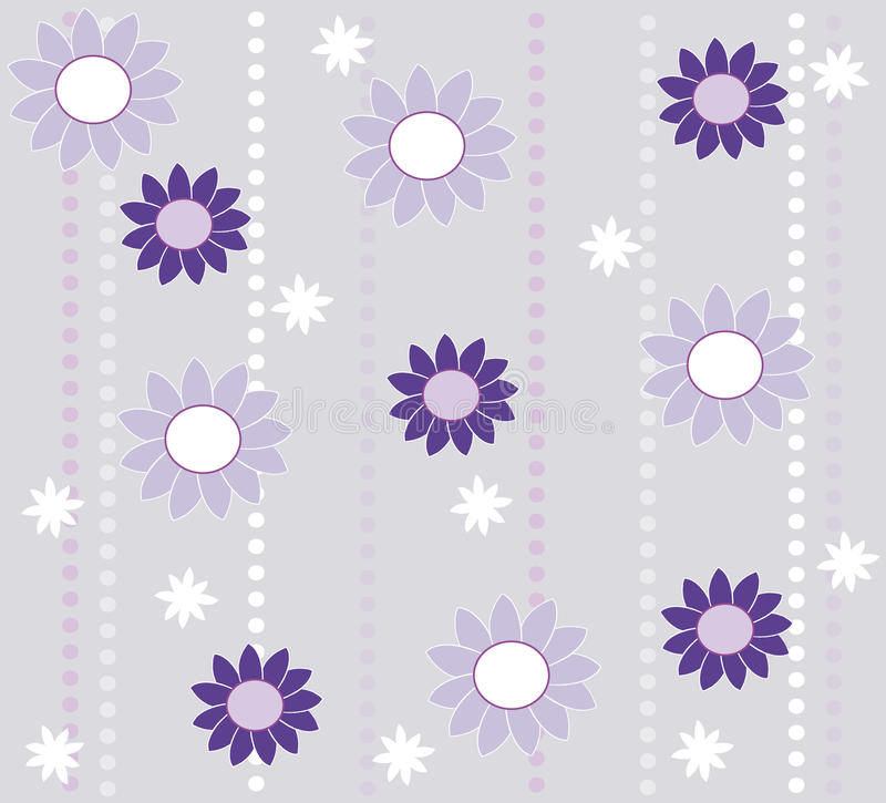 Download Wallpaper Design With Flowers Stock Illustration - Image: 15093152