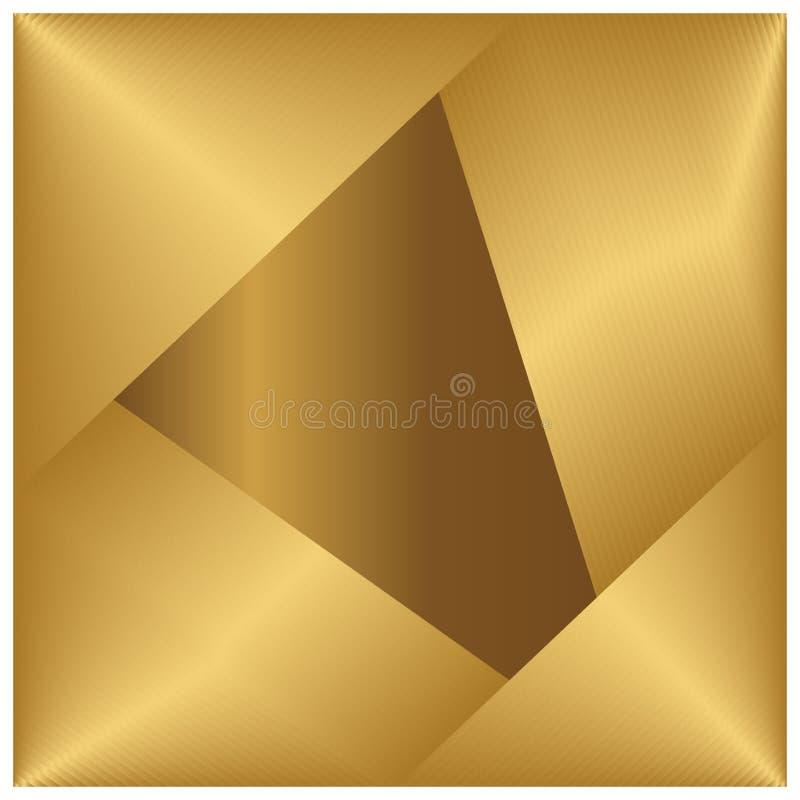 wallpaper för bakgrundsfärgguld s Sömlös guld- metalltextur royaltyfri illustrationer