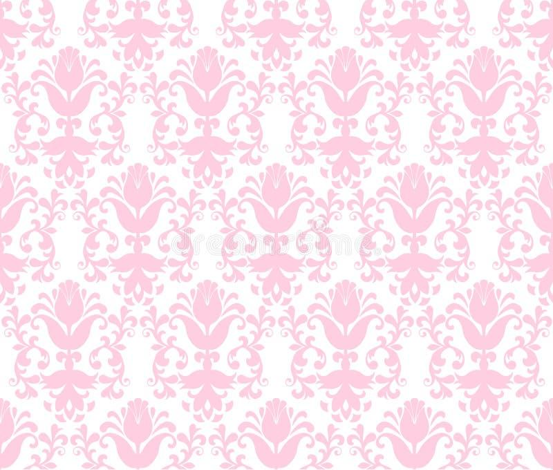 wallpaper för blom- klartecken för bakgrund seamless vektor illustrationer