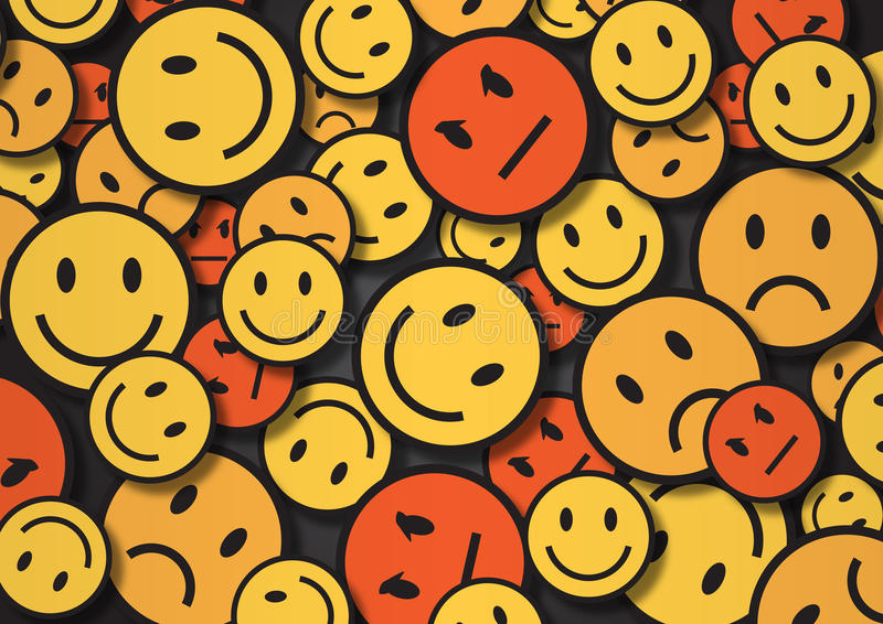 A wallpaper illustration made by smiley faces stock illustration download a wallpaper illustration made by smiley faces stock illustration illustration of options background altavistaventures Image collections