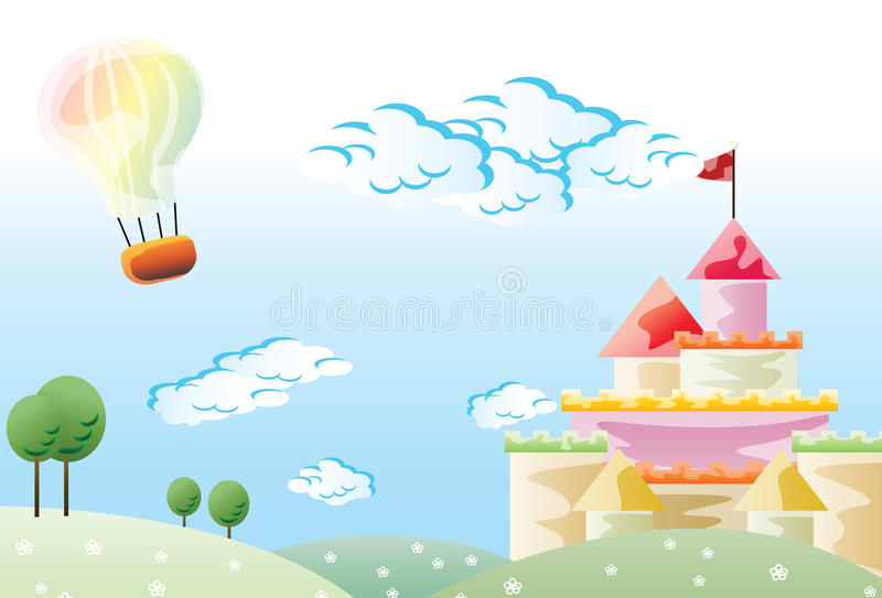 Download Wallpaper for kindergarten stock vector. Illustration of balloon - 15262652