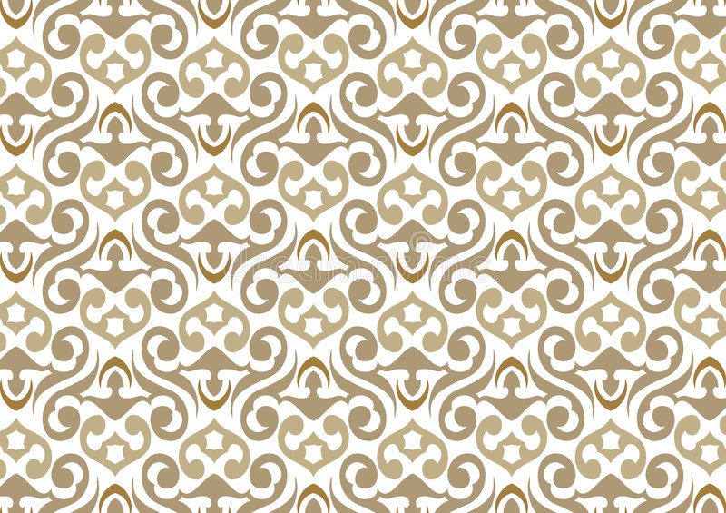 Wallpaper pattern stock illustration