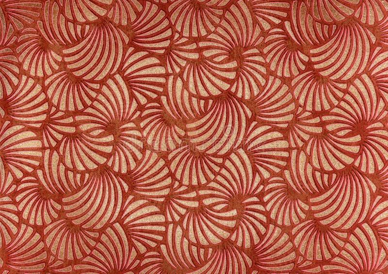 Wallpaper Pattern. Wallpaper, pattern varied shapes and colors stock photography