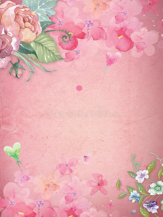 Fine art style wallpaper for photography stock images