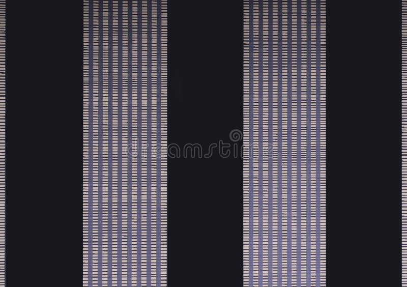 Wallpaper with two black and violet lines stock illustration