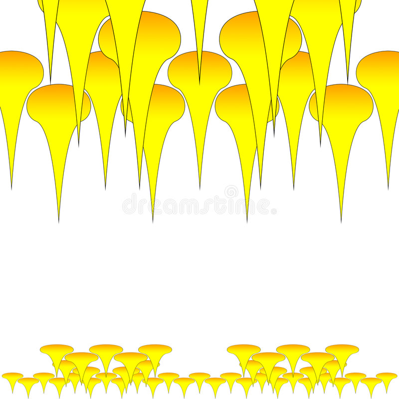 Wallper Yellow Royalty Free Stock Photos