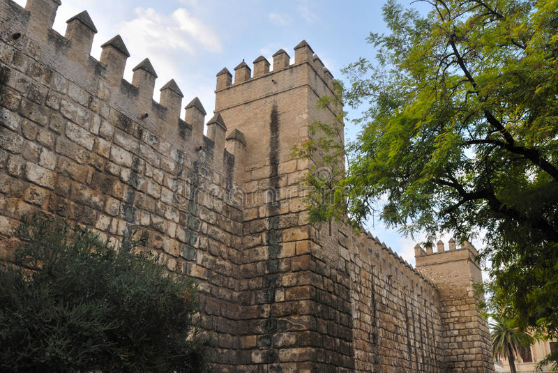 Download Walls Of The Alcazar Royalty Free Stock Images - Image: 21745439