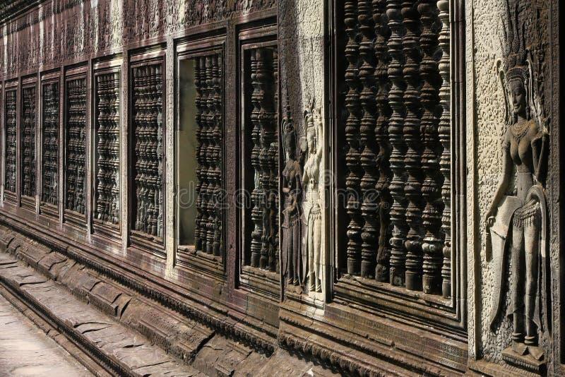 Download Walls Of Angkor Wat Stock Image - Image: 28491881