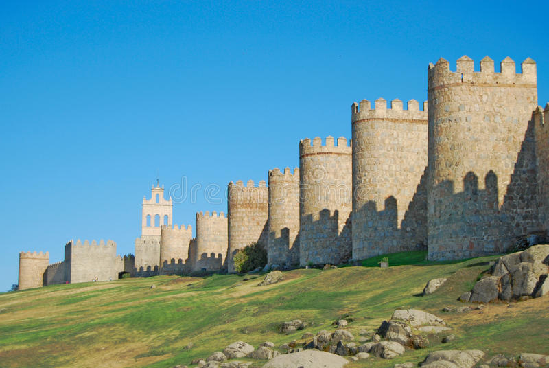 Download Walls of Avila stock image. Image of historic, leon, architecture - 11407919