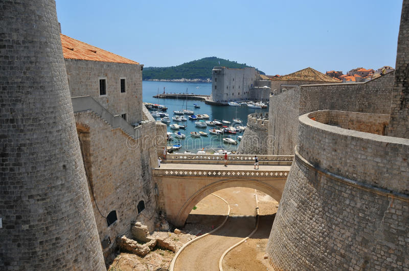 Download The Walls of Dubrovnik stock photo. Image of medievel - 15249276