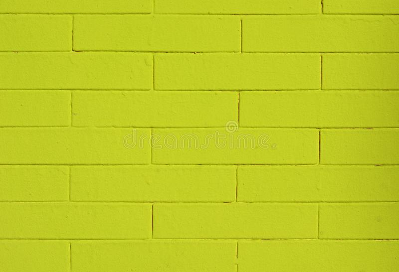 A wall of green yellow tiles. Walls of every kind and every time royalty free stock images
