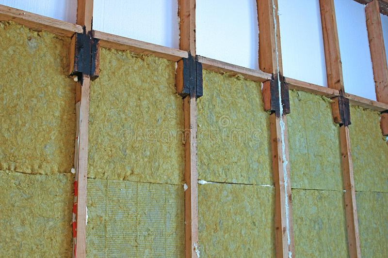 Download Walls Of A Frame House With Different Types Of Heat Insulation  Stock Photo   Image