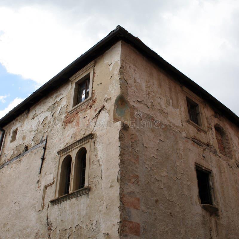 Walls inside old european castle. Walls inside old european medieval castle stock image