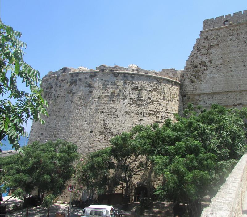 Turkish Fortress In Limassol, Northern Cyprus  Stock Image