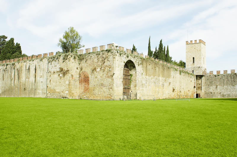 Walls Surrounding The Field Of Miracles Stock Image