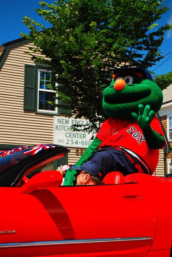 Wally op Parade royalty-vrije stock afbeeldingen